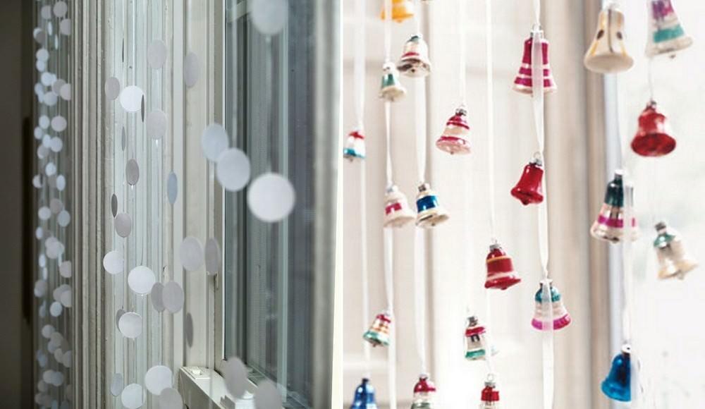Закрепляются ряды на шторной ленте, планке, или любой другой конструкции, которую вам удобнее будет зафиксировать на окне или карнизе