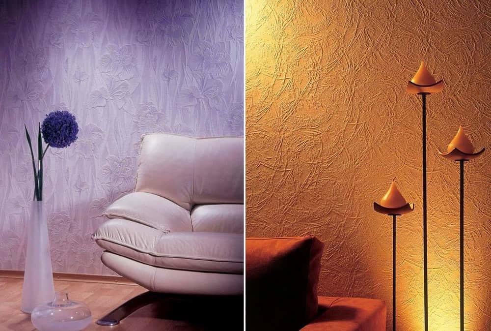 Как красиво покрасить обои под покраску фото