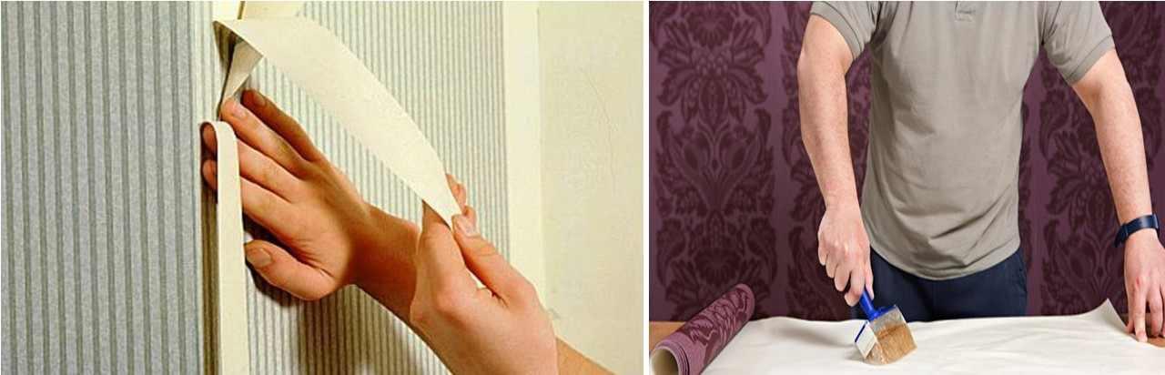 Перед поклейкой обоев нужно обязательно прошпаклевать и прогрунтовать стену: в противном случае, обои могут отклеиться