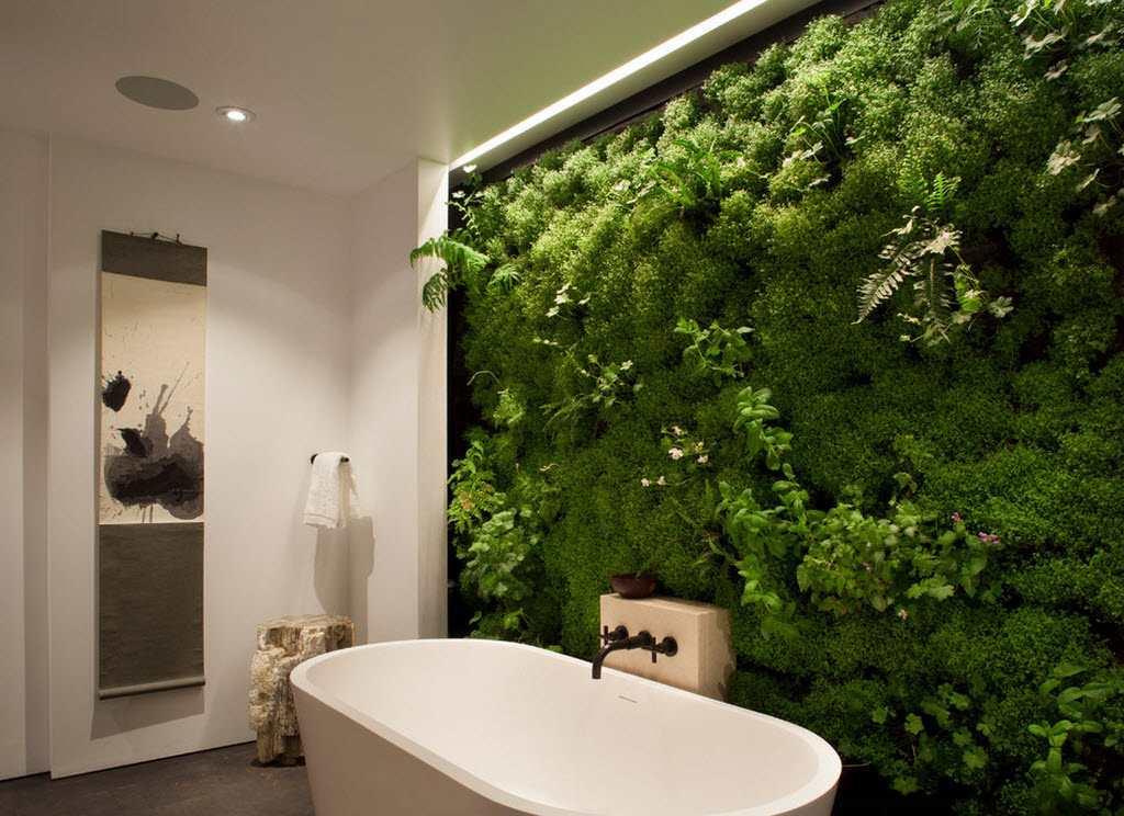 Большинство фотообоев сделаны по самым современным технологиям: поэтому их можно использовать в ванной комнате