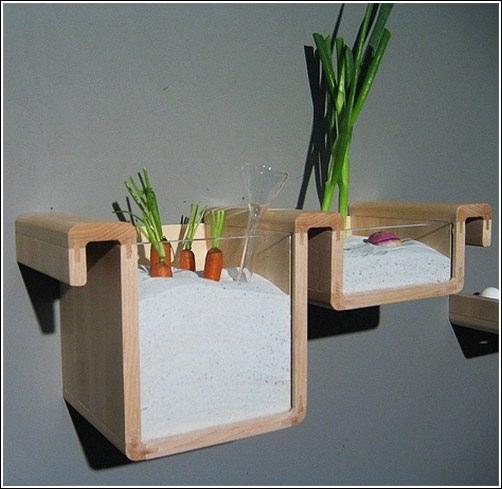 Подобные полки для кухни способны значительно преобразить любой интерьер