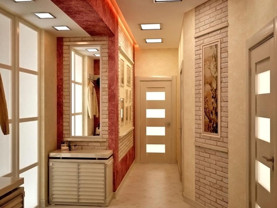 Фото узкого коридора #14