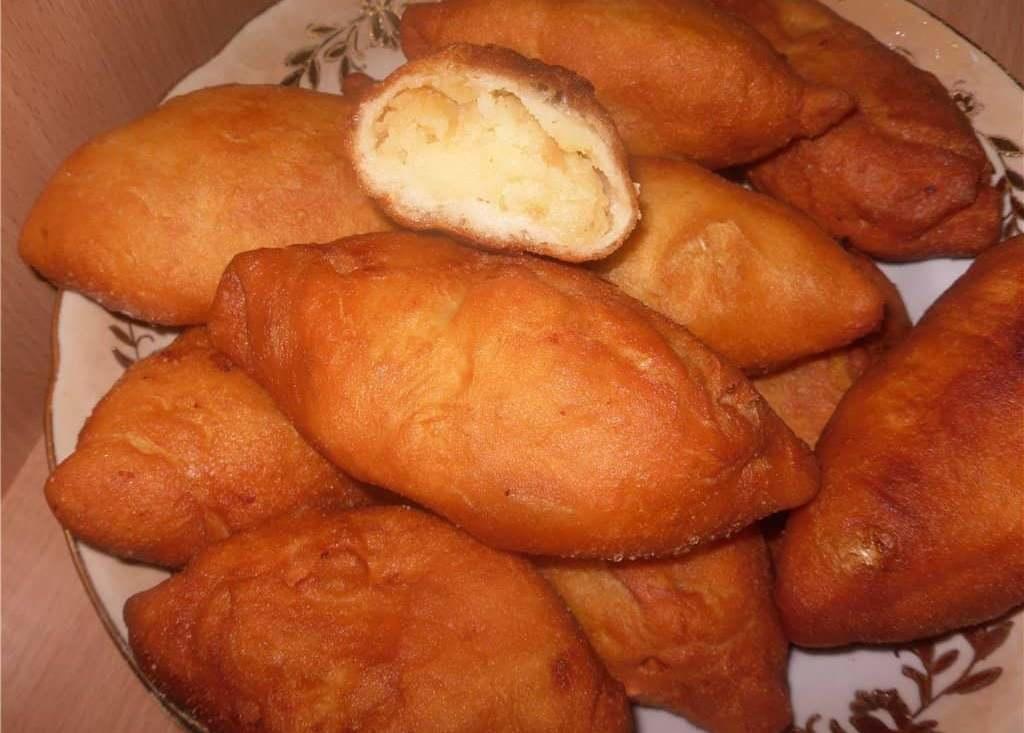 пирожки с картошкой фото как пончики рецепт четыре равные части