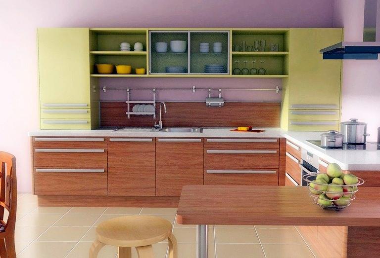 Помимо высокой прочности, МДФ является очень стойким материалом, что делает его популярным для изготовления кухонных гарнитуров