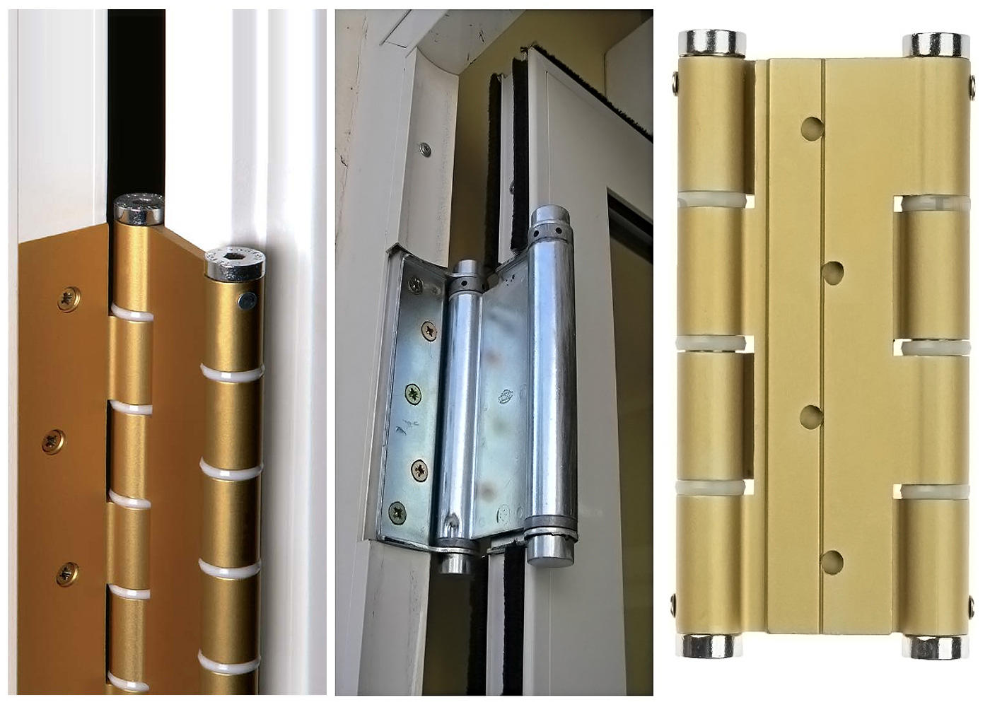 Пружинные петли для дверей имеют ряд преимуществ