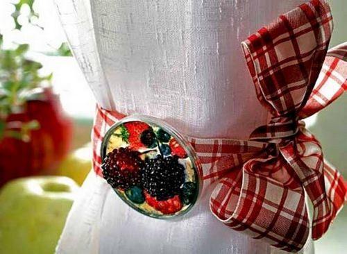 Декоративные мелочи для кухни, изготовленные своими руками, способны значительно преобразить интерьер