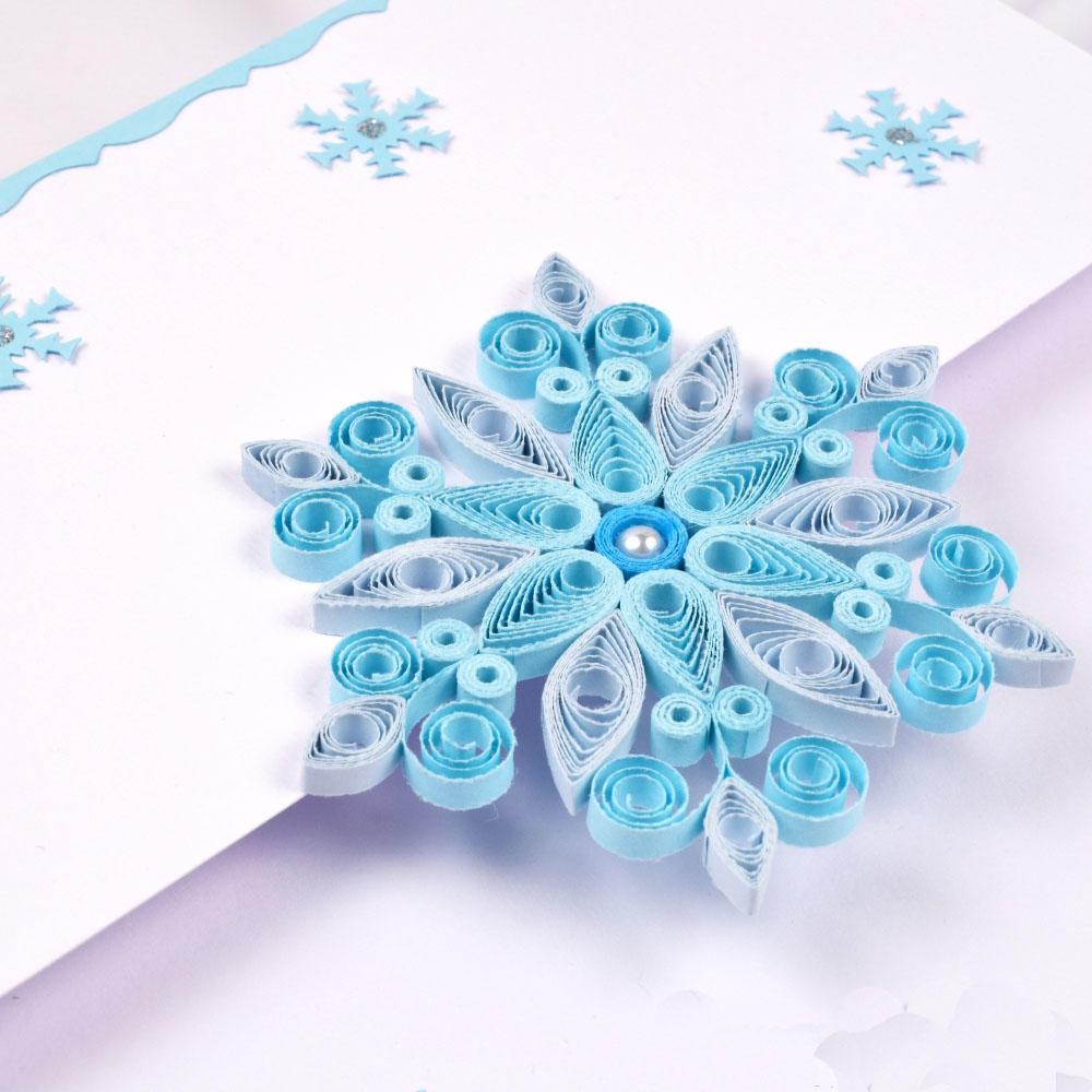 Новогодние открытки из квиллинга своими руками, камышина волгоградской области