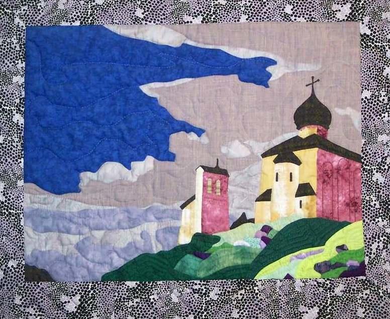 4-min74 Панно из ткани: своими руками на стену, из лоскутов, фото аппликации, цветы декоративные, история, как сделать настенное