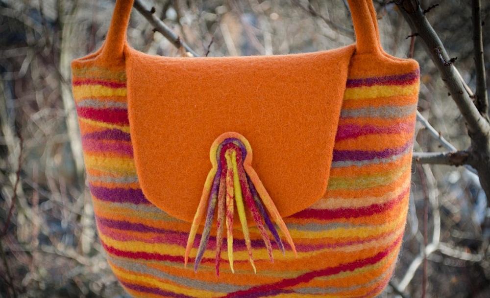 414d9fb5 Валяние из шерсти сумки — мастер-класс. Какие сумки можно свалять из шерсти в домашних условиях?