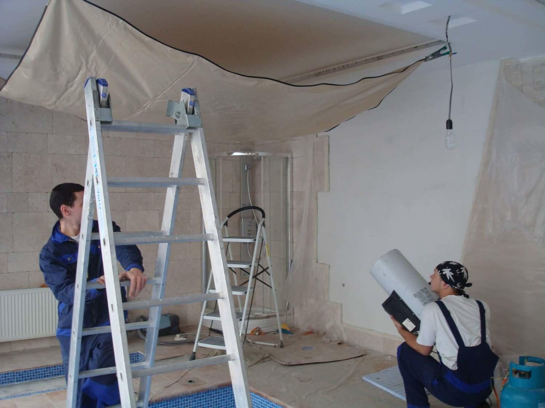 нормального монтаж натяжных потолков с картинками разрешение съемку вспышкой