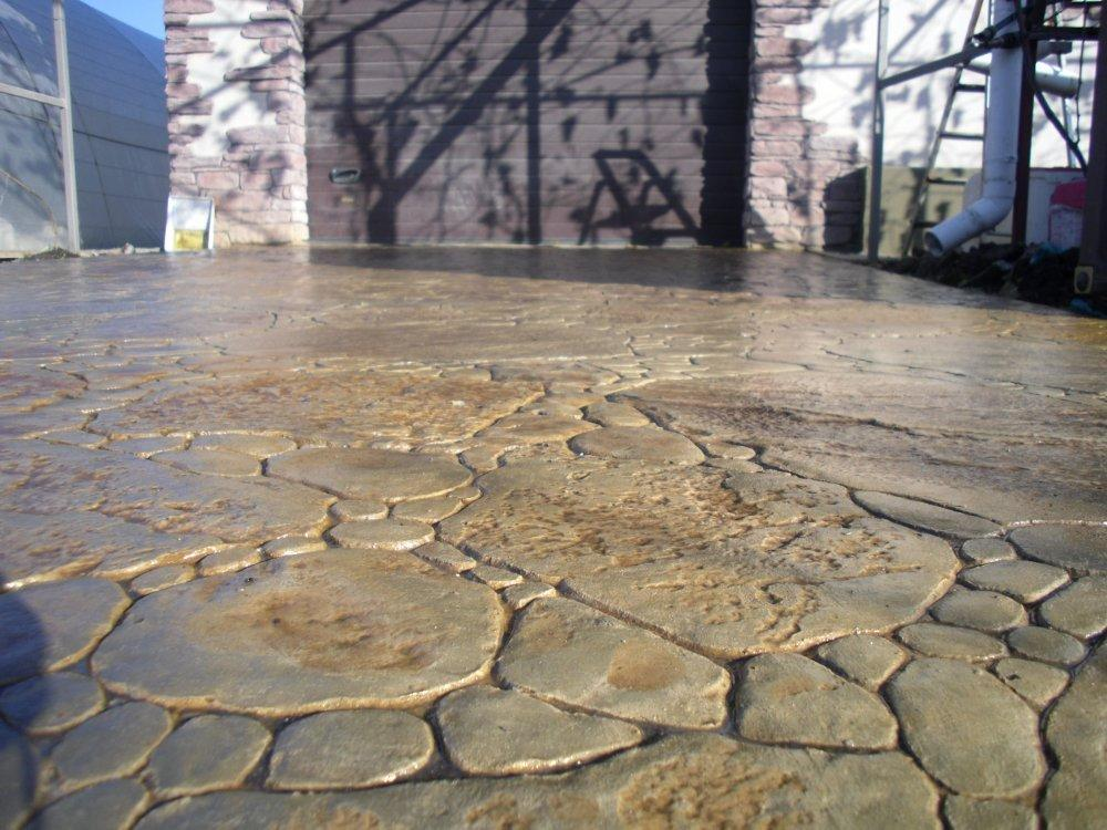 печать на бетоне