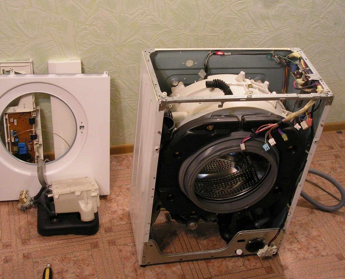 неполадки стиральной машины Индезит