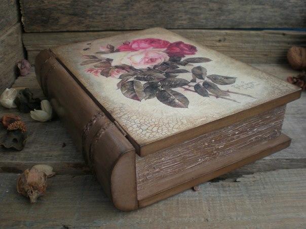 Декупаж деревянных шкатулок не требует особых умений и навыков