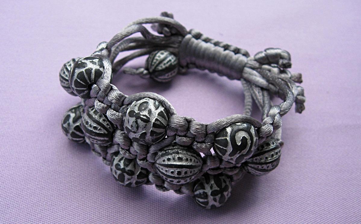 IMG_4814 Макраме браслеты: схемы плетения и видео, с ниток как сплести своими руками, для начинающих с бусинами стиль