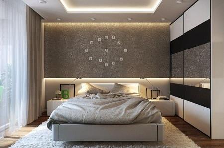 Чтобы создать оригинальный дизайн спальни, рекомендуется воспользоваться услугами дизайнера интерьеров