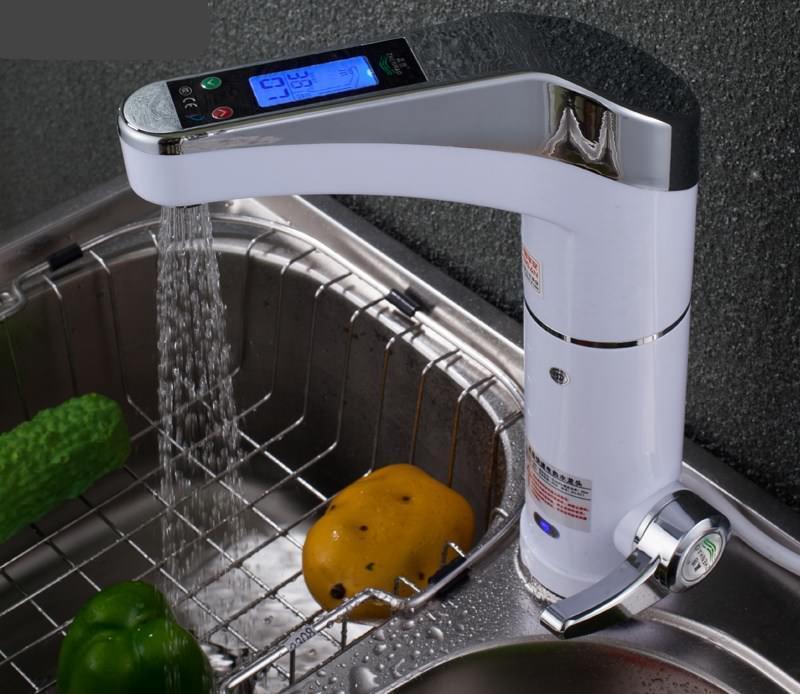 При выходе из строя крана мгновенного нагрева воды следует обратиться к специалисту