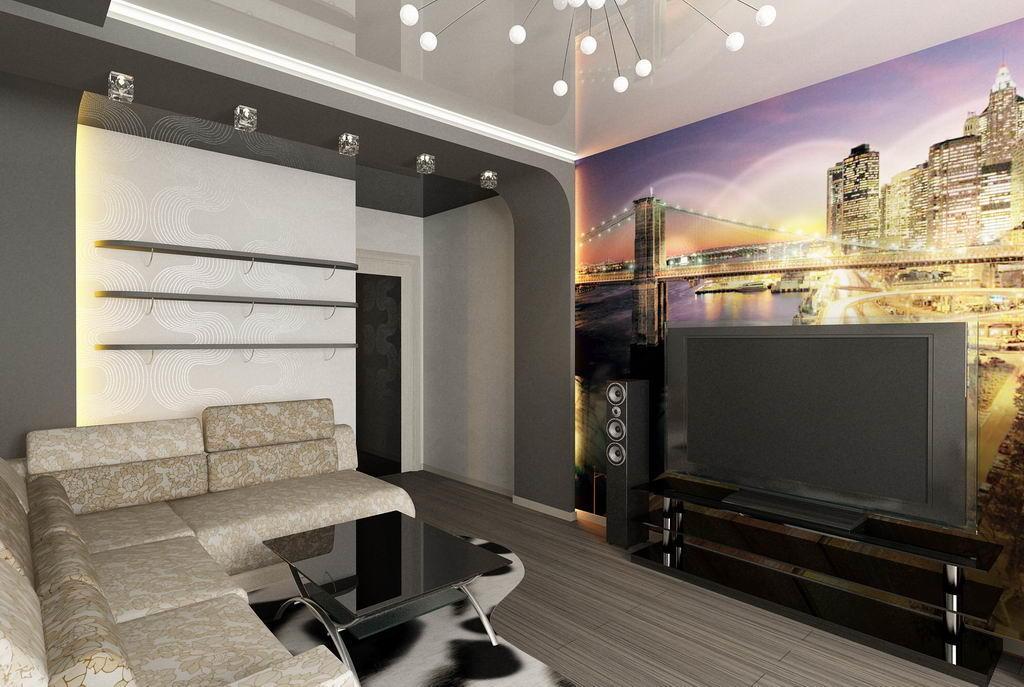 Ремонт квартиры фотогалерея зала