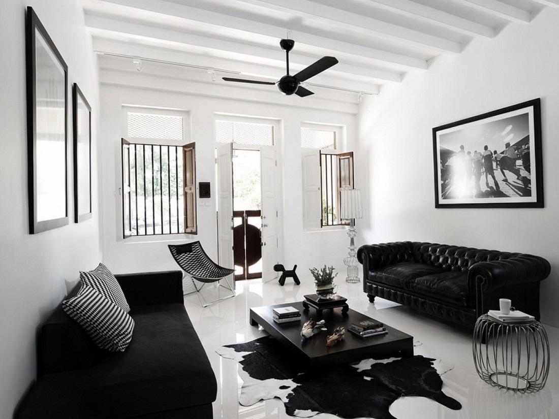 дизайн квартиры в черно белых тонах фото твёрдо знаем, что