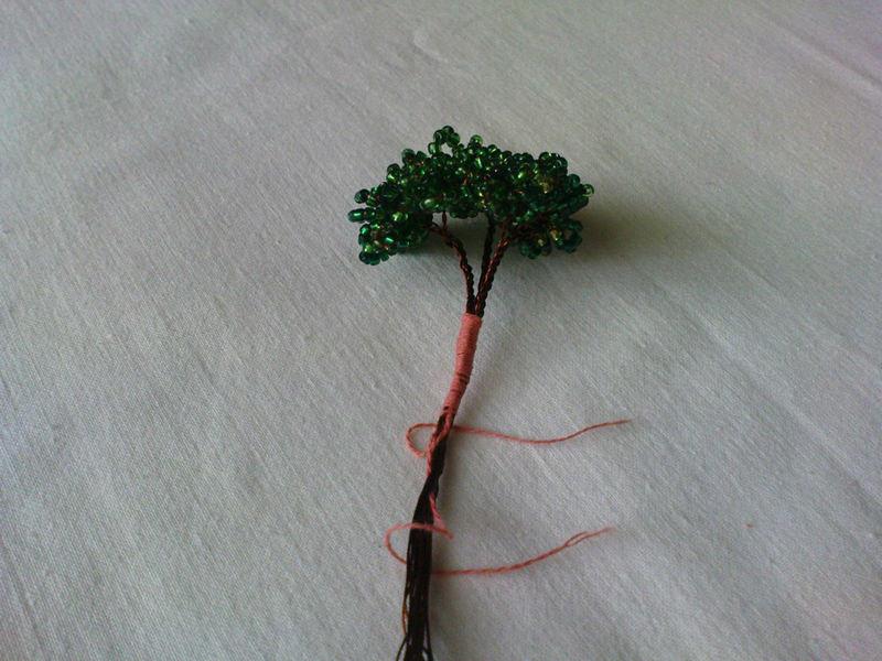 bonsai5 Как сделать своими руками бонсай из бисера по схемам с видео и фото