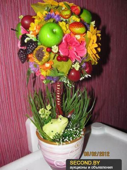 Топиарий является довольно привычным декором в европейской флористике. У нас же эти чудные деревца только набирают популярность