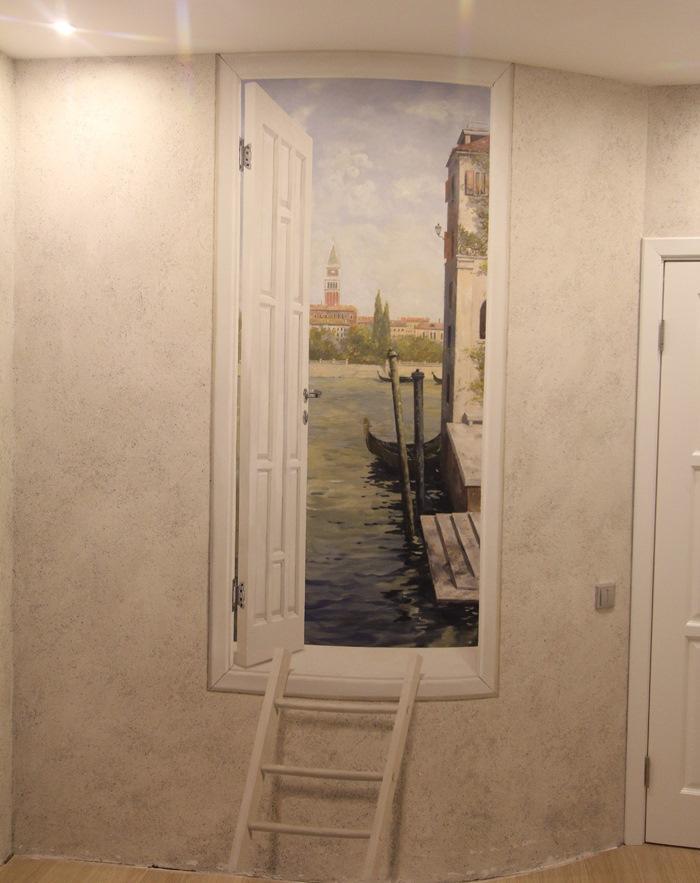 Для того чтобы нарисовать открытую дверь на стене, в первую очередь следует ознакомиться с пошаговой инструкцией