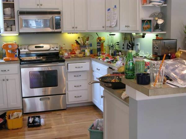 Неубранная вовремя кухня – отличное место для пиршества непрошеных гостей в отсутствие хозяев дома