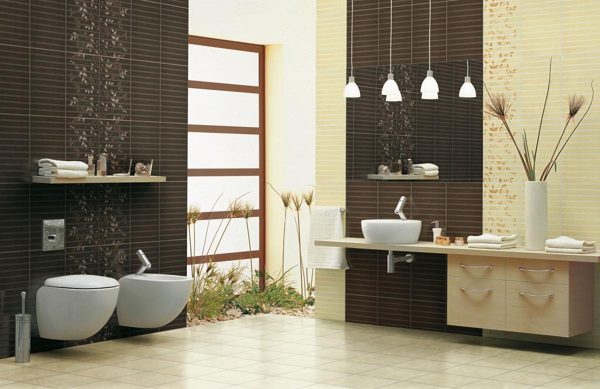 Чтобы гармонично сочетать плитку в ванной, стоит использовать специальную таблицу с цветами