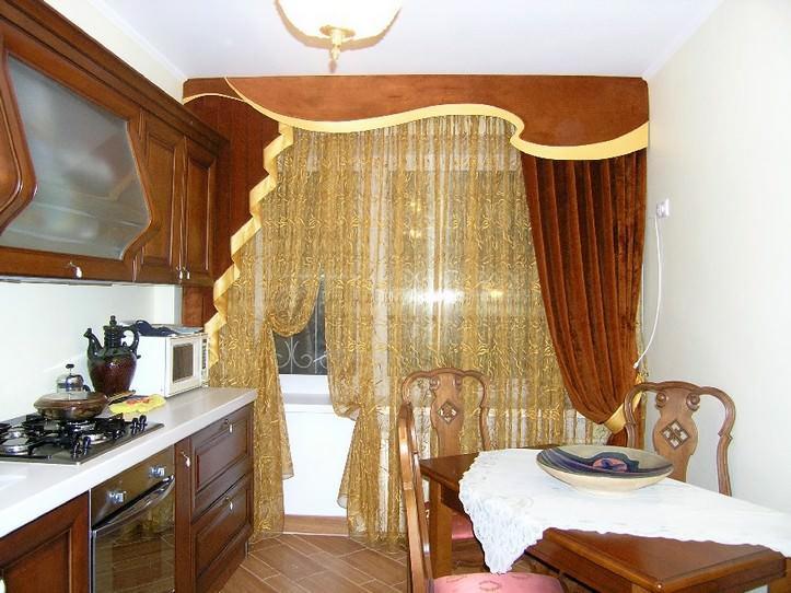 idei-shtor-na-kuhnyu Как пошагово сшить шторы на кухню своими руками по выкройке?