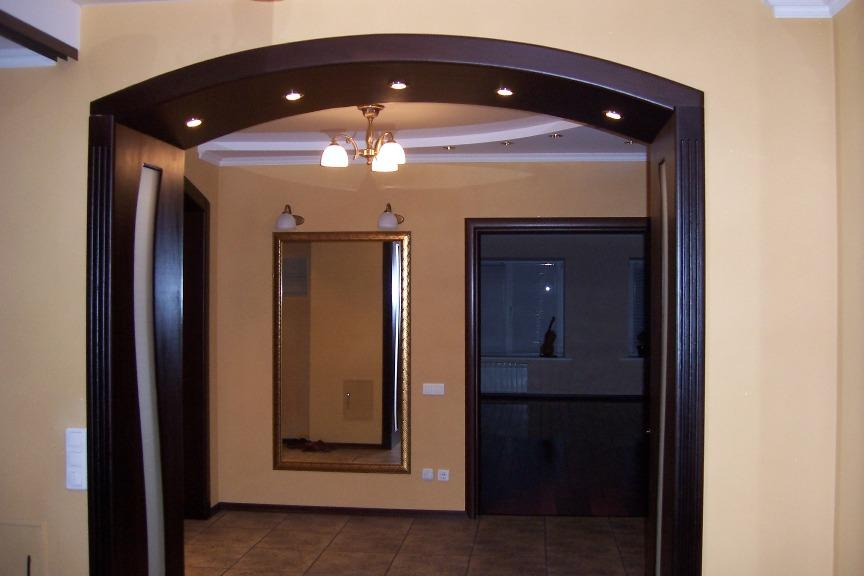 дверные проемы оформление без дверей фото воздействие перекиси