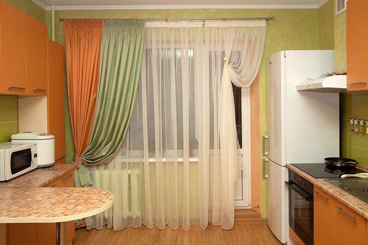 ku209 Как пошагово сшить шторы на кухню своими руками по выкройке?