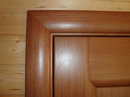 С помощью наличников можно существенно улучшить эстетические свойства дверей