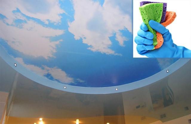 Моющие потолки отличаются не только красотой, но и практичностью