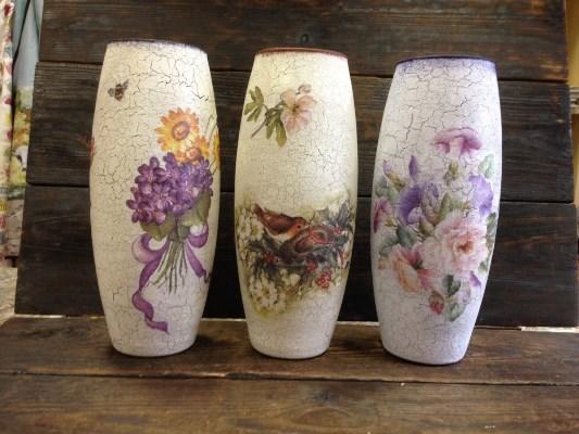 4673_dekupazh-steklyannoy-vazy--k Декупаж стеклянной вазы: мастер-класс и пошаговая инструкция, как за декорировать сосуд своими руками