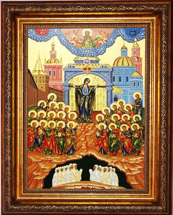 Икона «Непроходимая дверь» «закрывает» дом и ее жителей от колдовства и от нежелательных людей