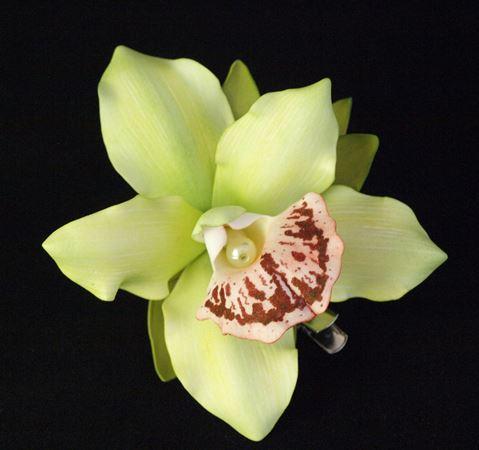 Интересно украсить интерьер дома вам поможет красивая орхидея из фоамирана