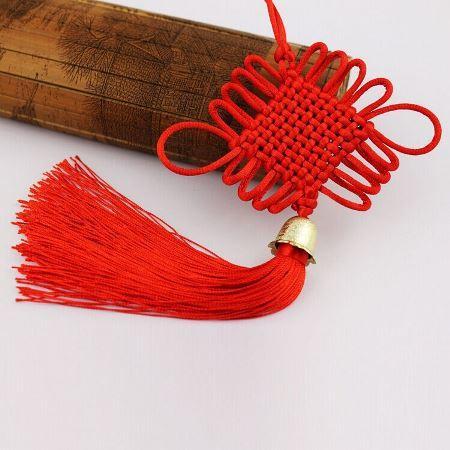 Decoration-Items-Fengshui-Bell-Chinese-Macrame-Knots Макраме для начинающих 🥝 мастер класс с фото, как плести изделия из макраме своими руками