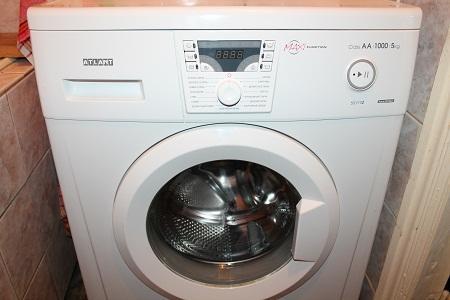 Большинство стиральных машин Атлант имеют дисплей, на котором отображается код ошибки
