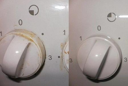 Очистить ручки у плиты можно как традиционными, так и народными средствами