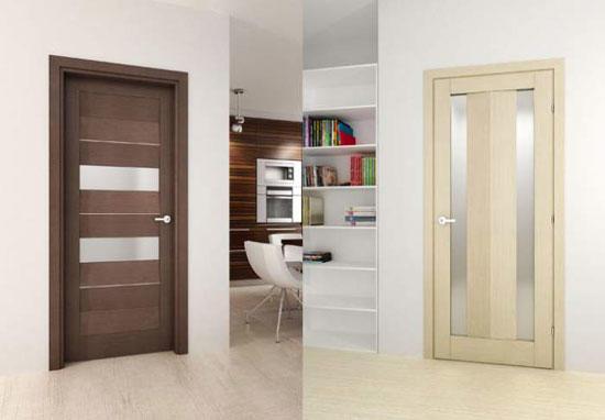 Стильно дополнить интерьер в современном стиле можно при помощи царговых дверей