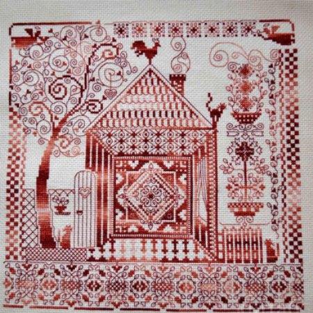 Схемы вышивки оберегов крестом