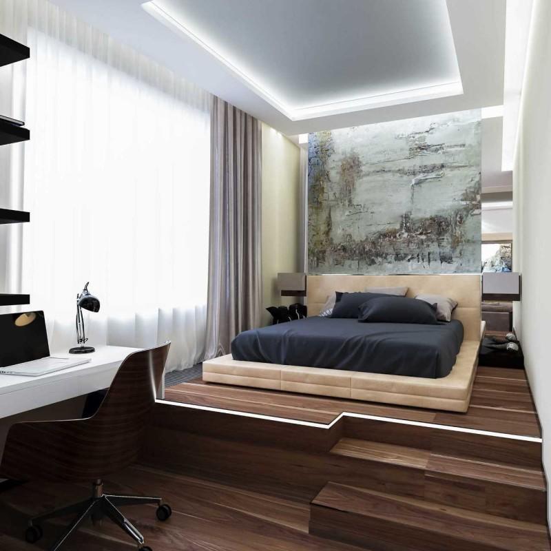 Создать современную и стильную спальню можно самостоятельно