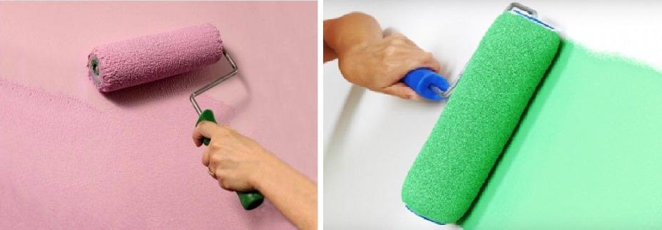 Покраска стен будет простым и практичным способом оформить пространство вашей кухни
