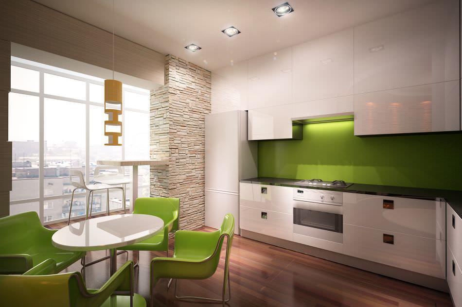 Выбирая материал для отделки стен, следует исходить из специфики кухни