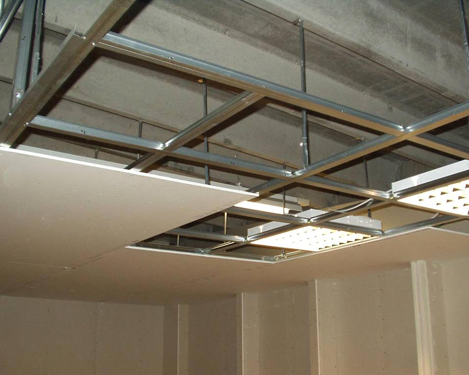 монтаж подвесного потолка из гкл фото выяснит, что все