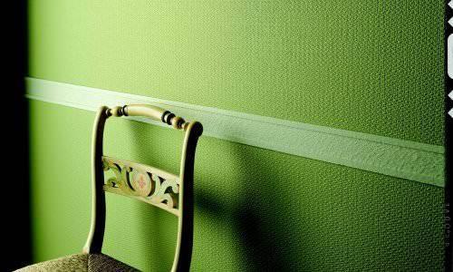 Использование бордюра для обоев сделает вид стен более законченным