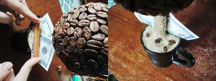 ukrashenie-kruzhki Топиарий из шишки: фото мастер класс, из листьев пошагово, своими руками как сделать осенний, из желудей еловых, мк из сосны