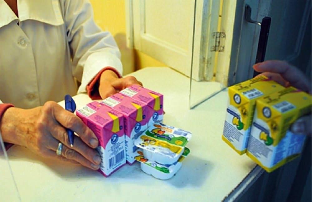 Детские продукты положено выдавать согласно нормам, категориям и рекомендациям