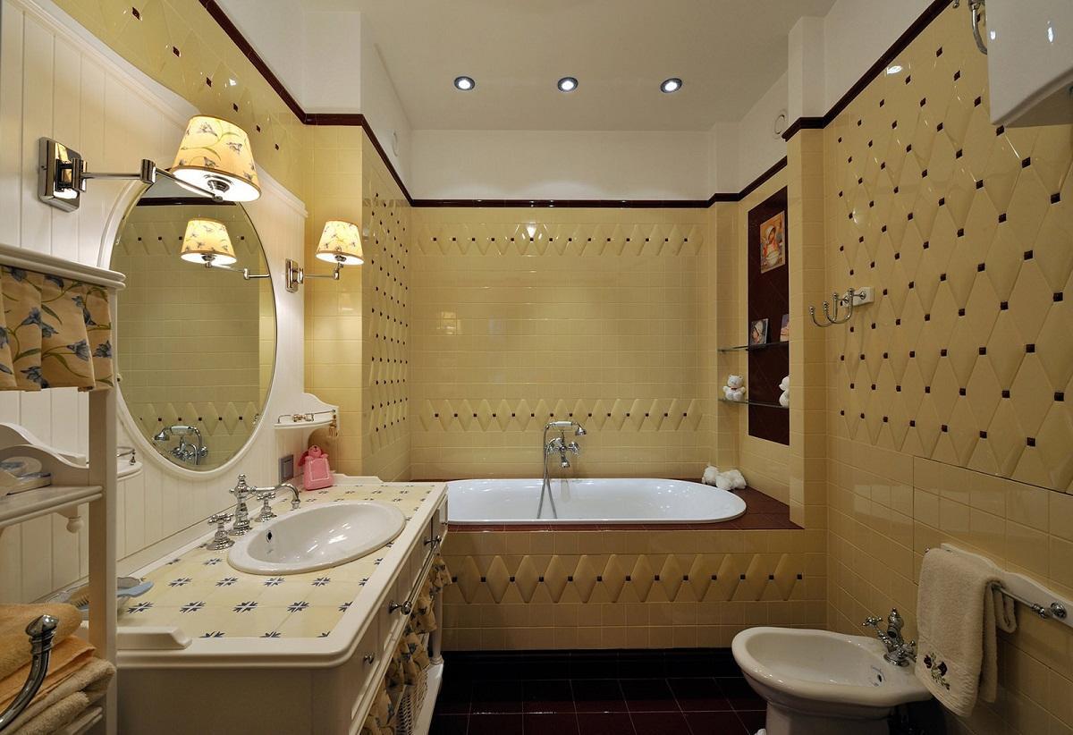 Расстояние между ванной и тумбой с раковиной