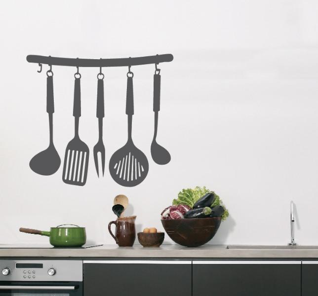 Стикеры позволят наполнить кухню недостающими деталями