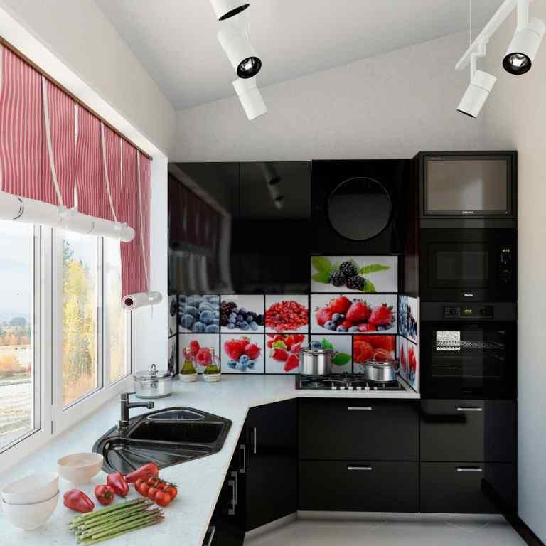кухня на балконе или лоджии фото дизайн того